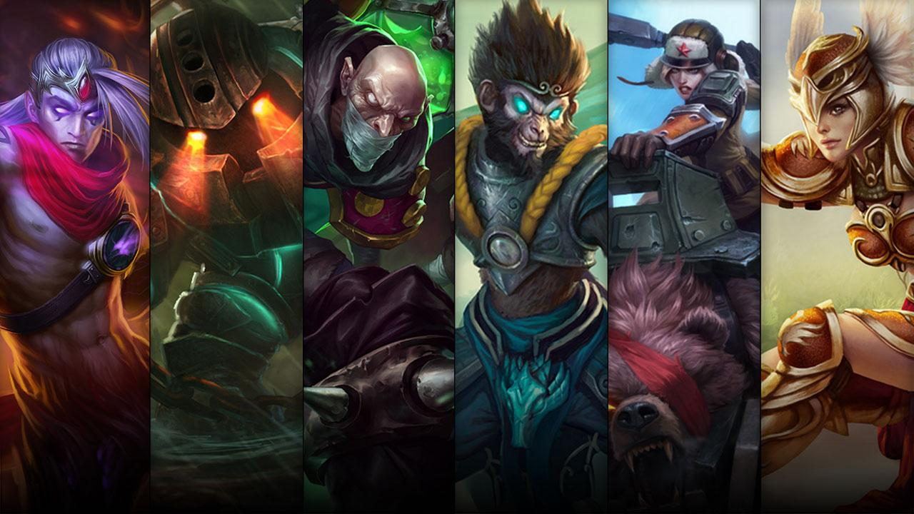 League of legends promocao
